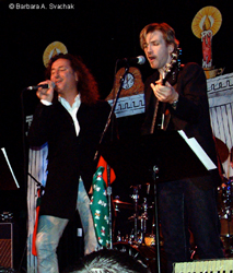 Steve Augeri and Tony Shanahan
