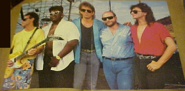 randy jackson in journey band. Neal Schon, Randy Jackson